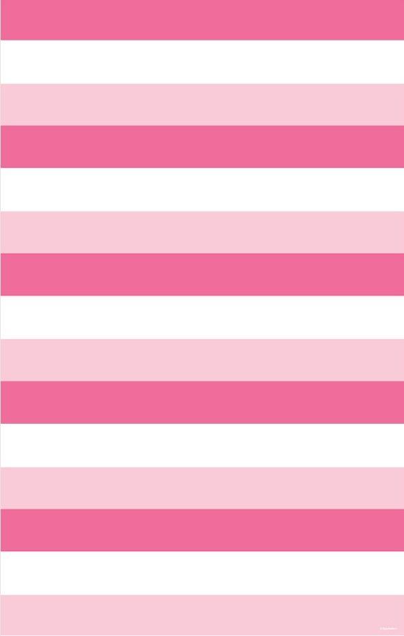 Stripe Hot Pink, Light Pink & White wrapping paper ...