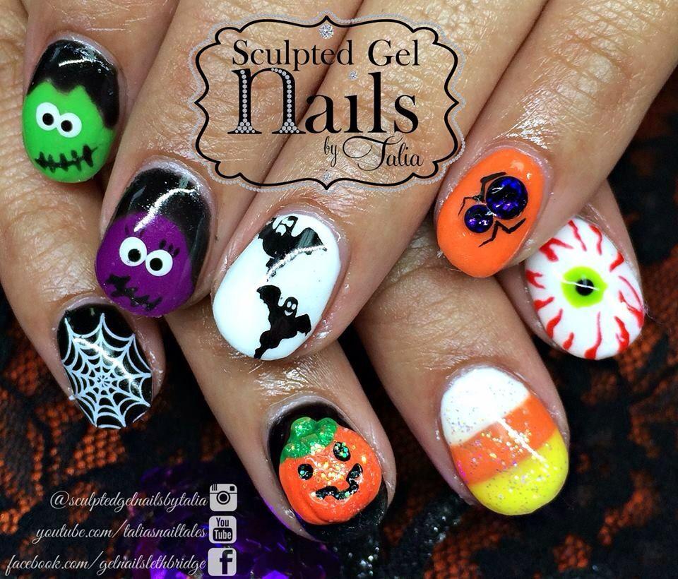 Pin by Jill Jones on Halloween | Pinterest | Halloween nail designs ...