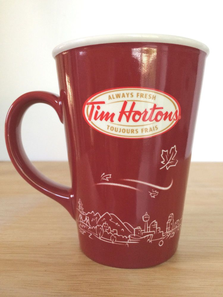 Details about Tim Hortons Coffee 2017 Maple Leaf 16oz