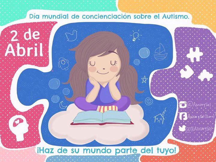 Día mundial de concienciación sobre el autismo. Azúcar y Sal