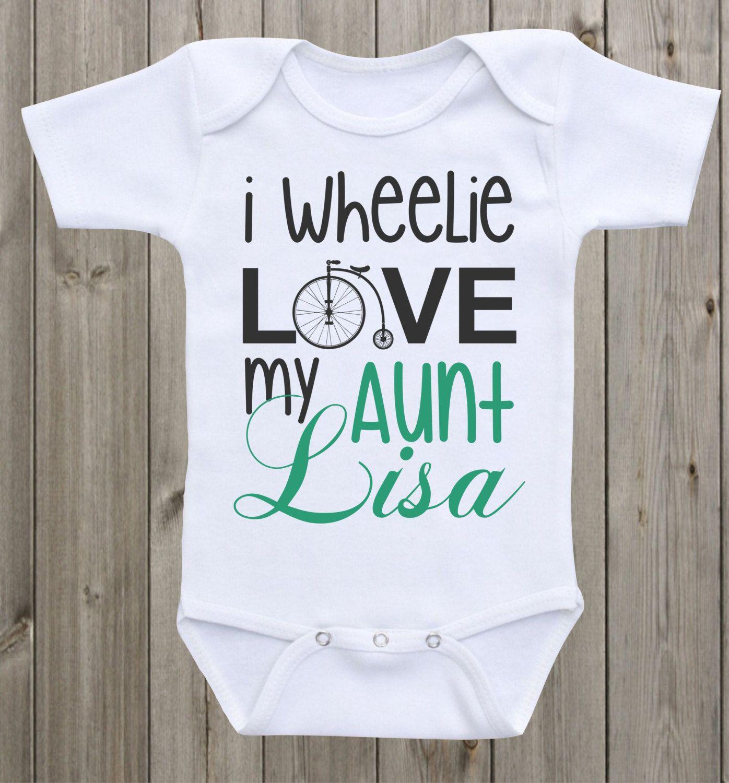 Aunt onesie i wheelie love my aunt baby shirt custom onesie aunt aunt onesie i love my aunt baby shirt custom onesie auntie onesie aunt shirt personalized onesie negle Gallery