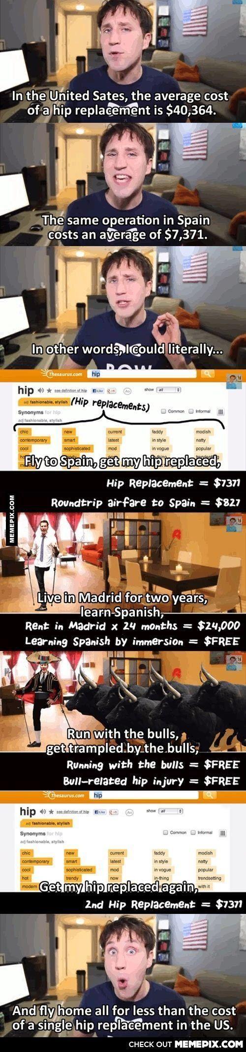 hip replacement(geht diese rechnung auf?) – Mix