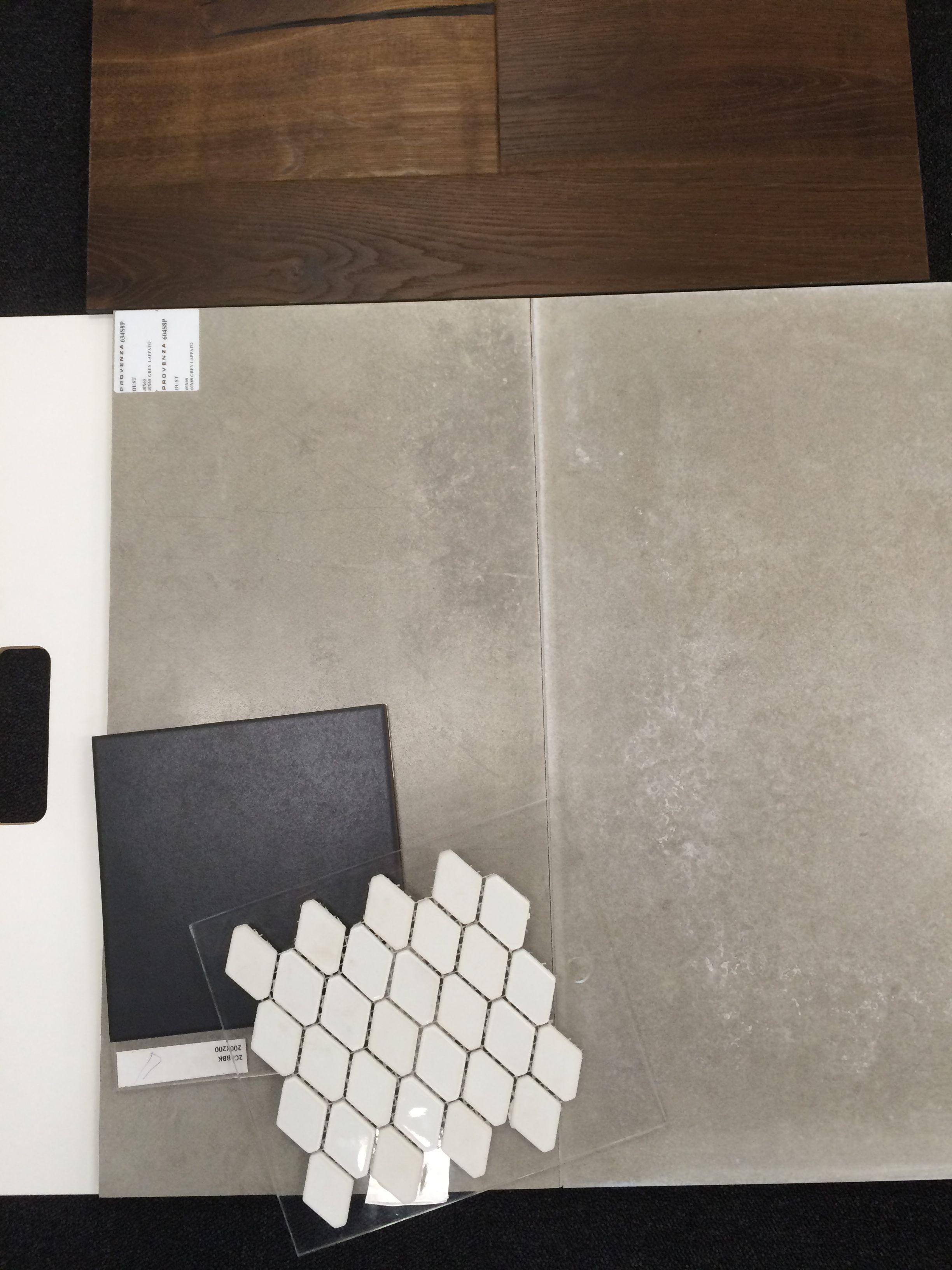 Our Kitchen Tile Choices From Di Lorenzo Floor Grey Leppato 74m2
