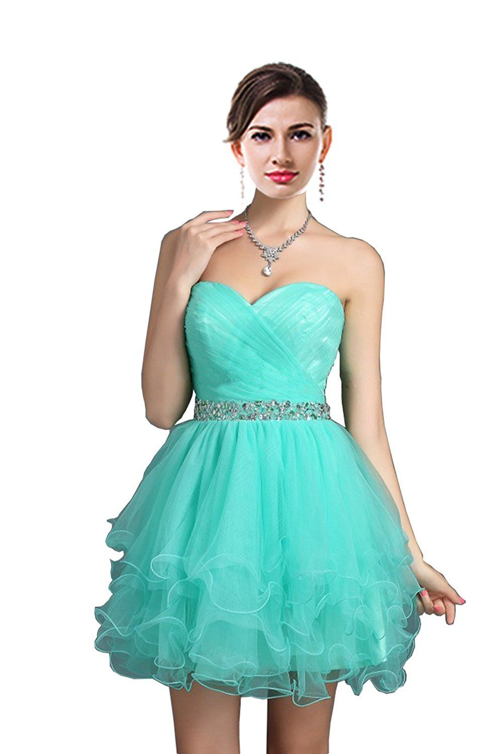 Thaliadress sweetheart rhinestone short party homecoming dresses