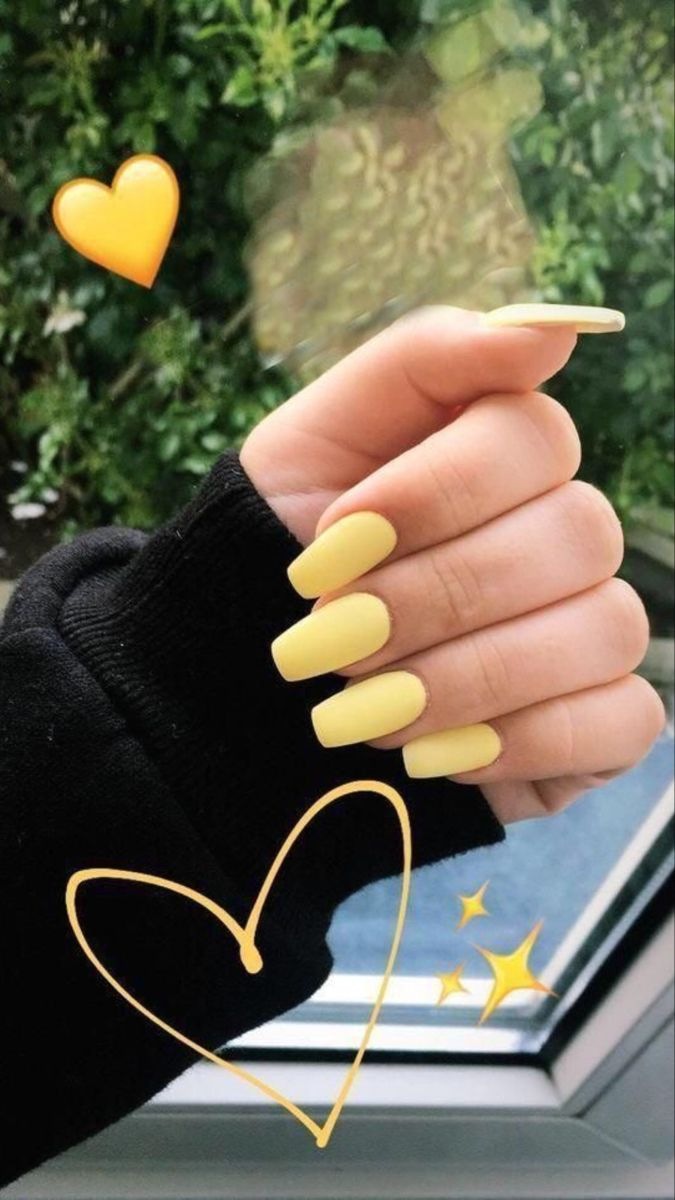 Yellow Nails In 2020 Acrylic Nails Yellow Summer Nails Best Acrylic Nails