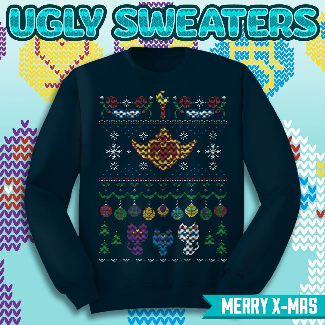 Sailor Moon Christmas Sweater.Pin On Ugly Sweaters