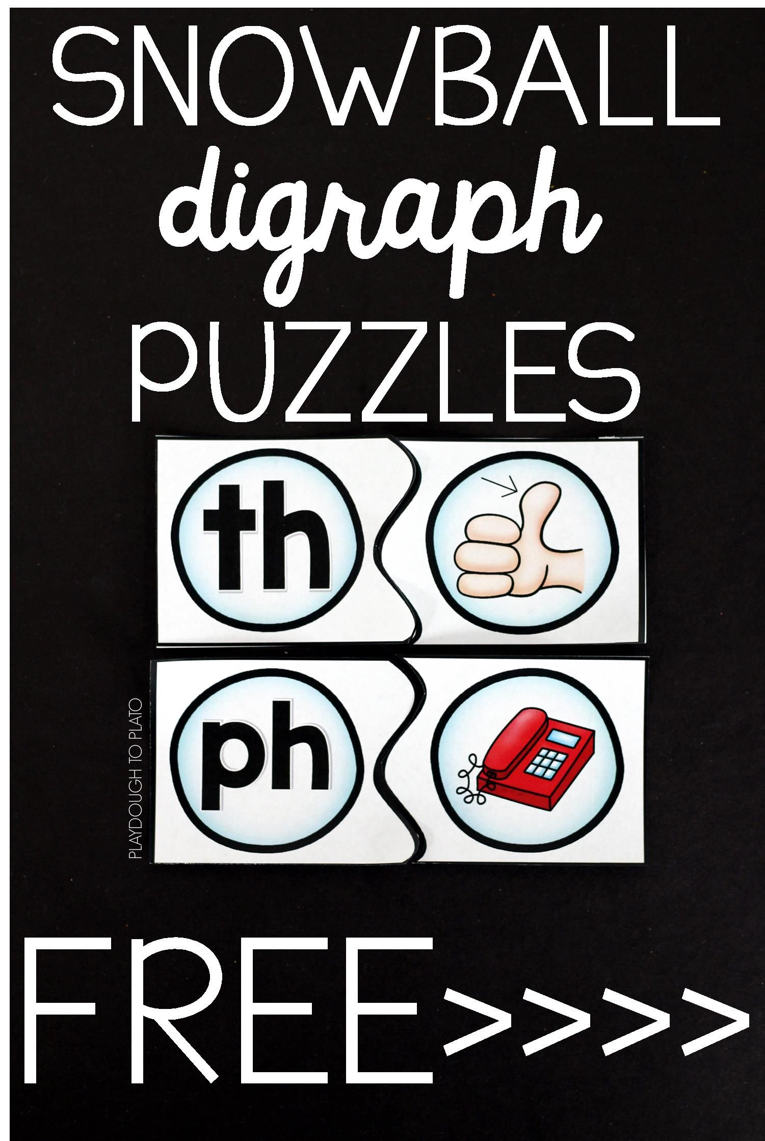 Snowball Digraph Puzzles