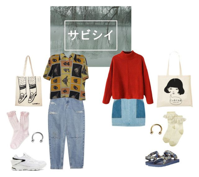 """サビシイ"" by pallo ❤ liked on Polyvore"