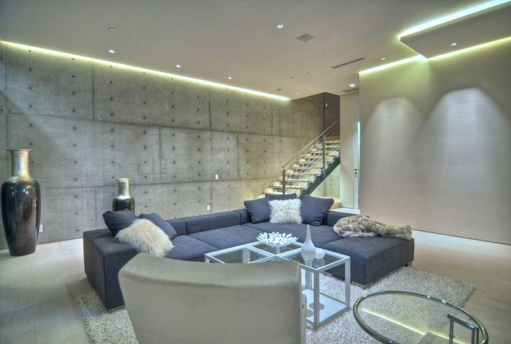 Best Led Basement Lighting   False ceiling living room ...