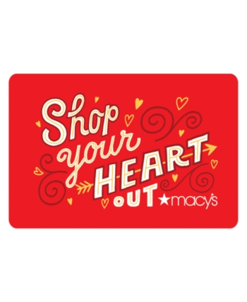 Love Gift Card With Greeting Card Egift Card Love Gifts Macys