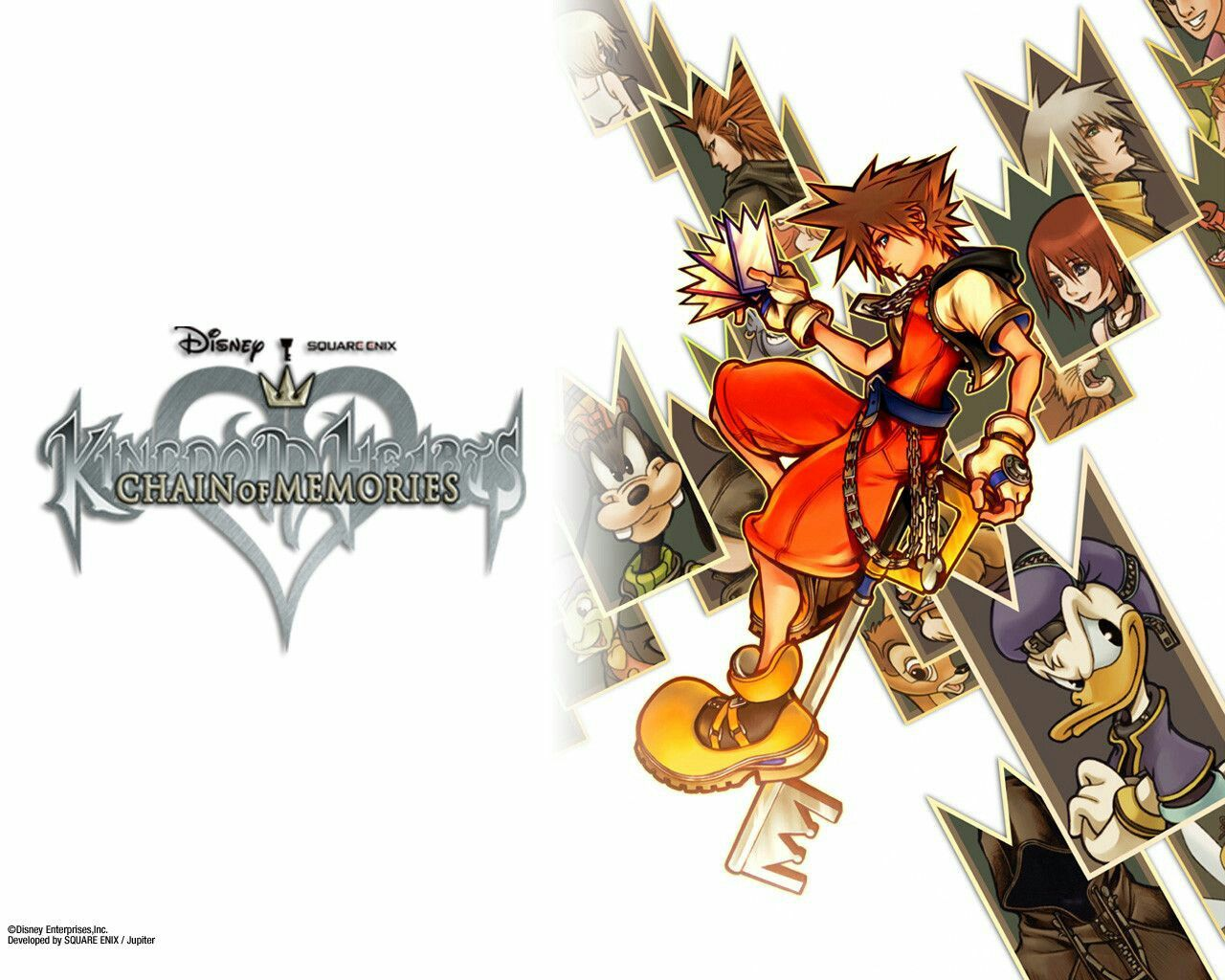 Kingdom Hearts Chain Of Memories Wallpaper Kingdom Hearts Chain