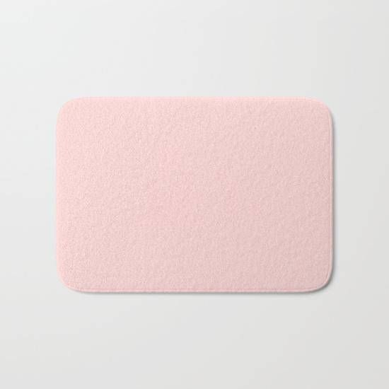 blush pink bath mat light pink pastel bath mat pink minimal shower