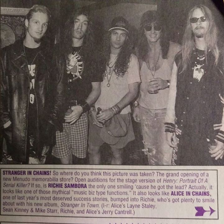 Alice In Chains And Richie Sambora Alice In Chains Mike Starr