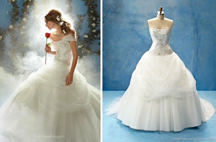 """Beauty And The Beast Inspired Wedding Dress: Belle """"Beauty And The Beast"""" Inspired Wedding Dress."""