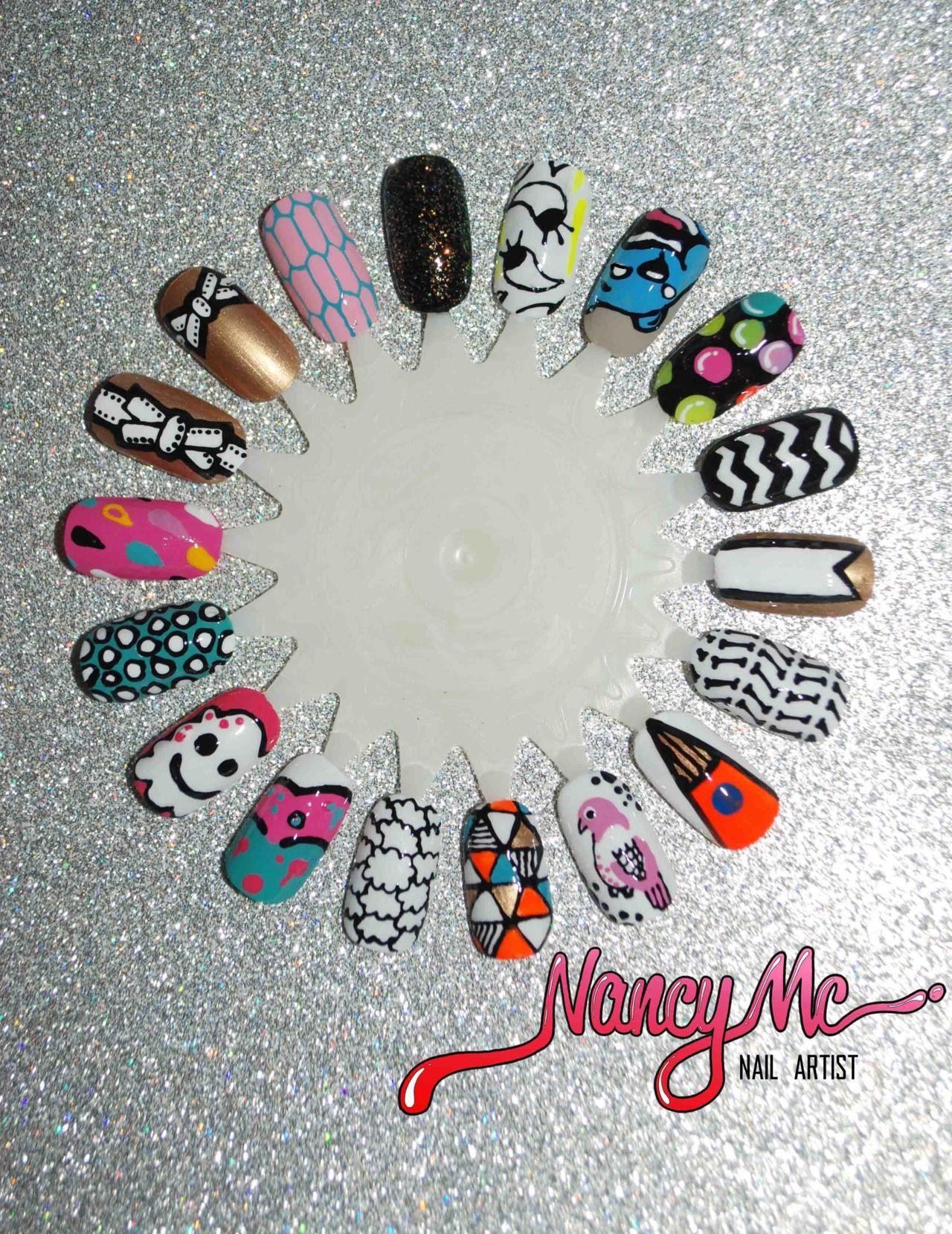 Decoracion de uñas fácil | Tutoriales de arte de uñas | Pinterest ...