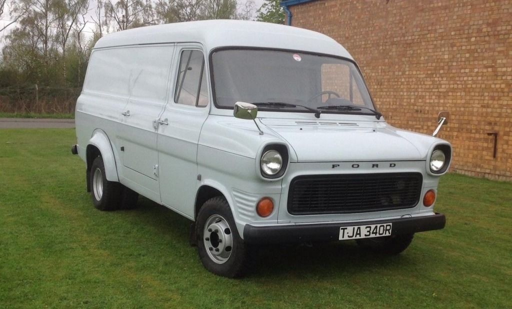 FOR SALE – 1976 Mk1 Ford Transit Van VIEW EBAY AD >> http://ebay.to ...