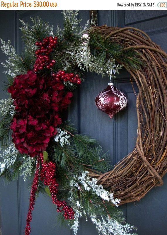 Wreath Black Friday Sale Christmas Wreaths por HomeHearthGarden
