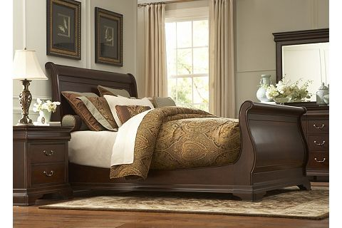 Orleans Grand Sleigh Bed Havertys Master Retreat In 2019