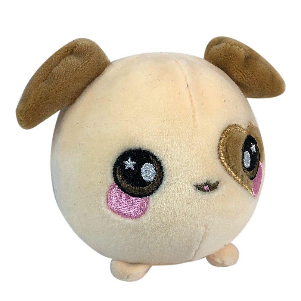 Squeezamals Dasie The Dog Animal Dolls Pet Toys Cute Plush
