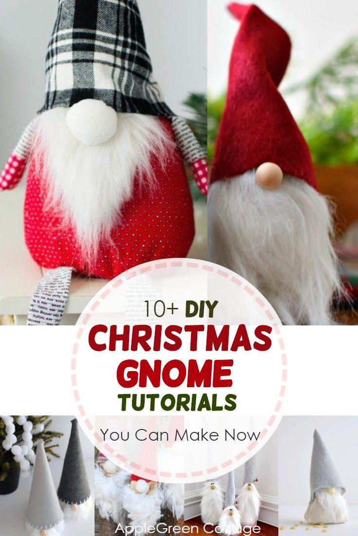 Christmas Gnomes Pinterest.10 Christmas Gnome Tomte Tutorials Fall Winter 2018