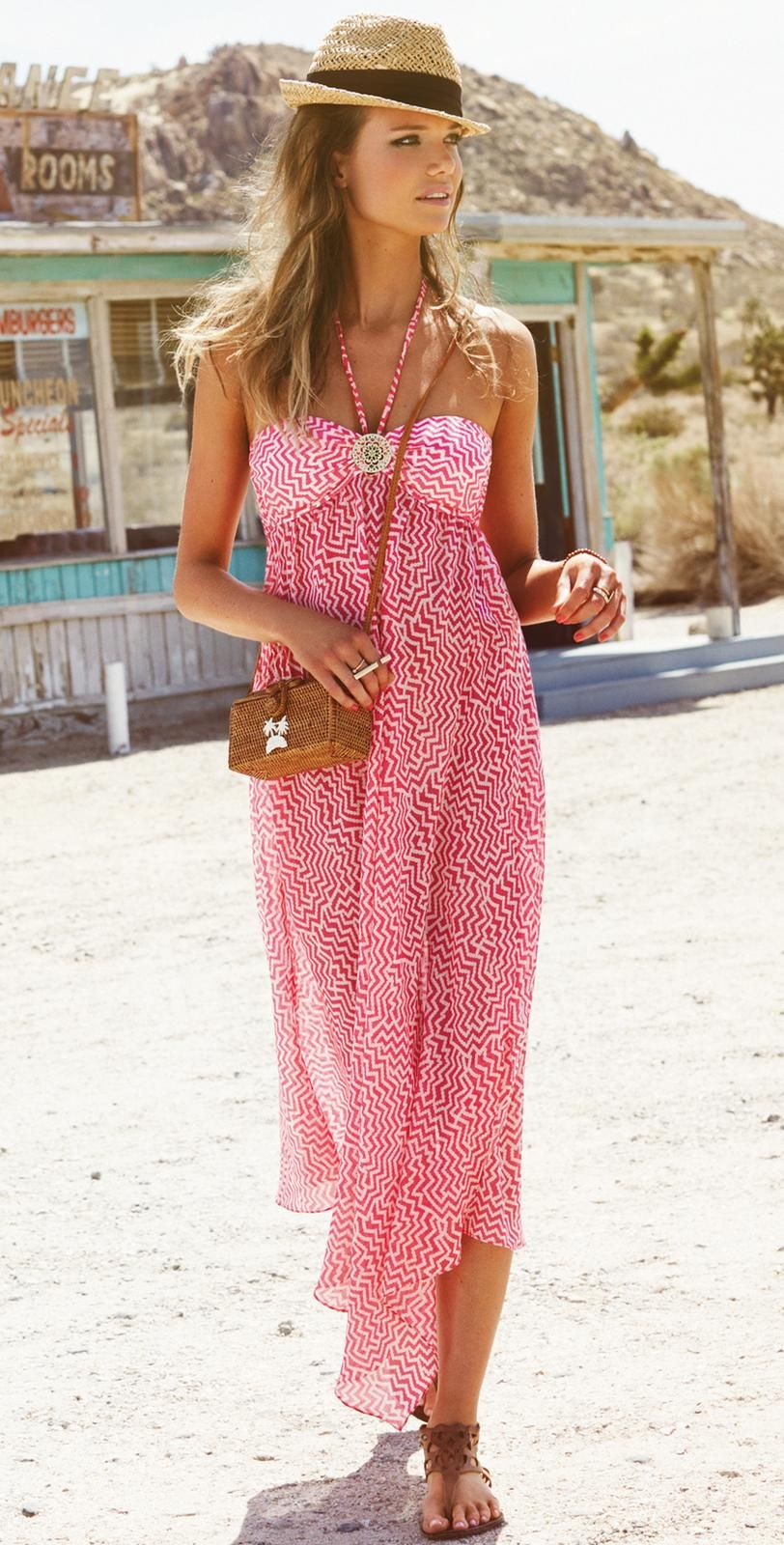 Watercult 7 Malibu Cover Pink Dress 7-7-7  South Beach