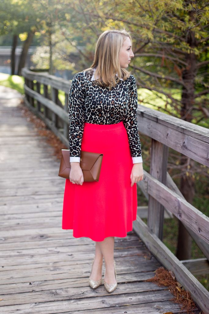 Holiday Leopard Outfit