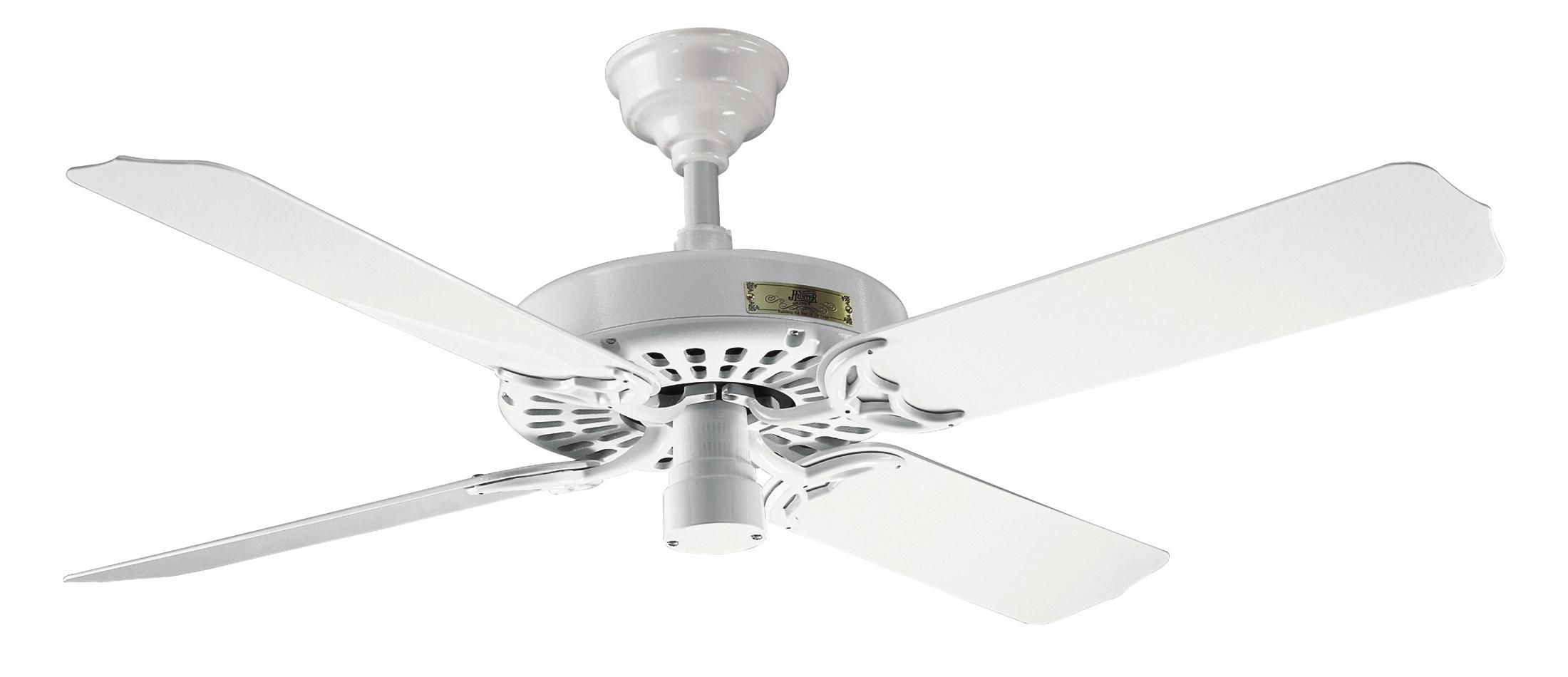 Hunter Outdoor Original White Ceiling Fan 25602 In White