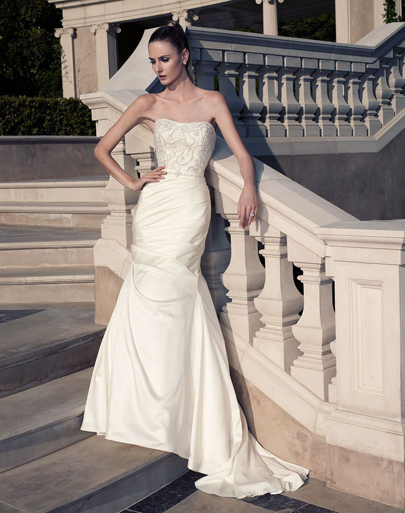 Casablanca beaded bodice wedding gown style in products