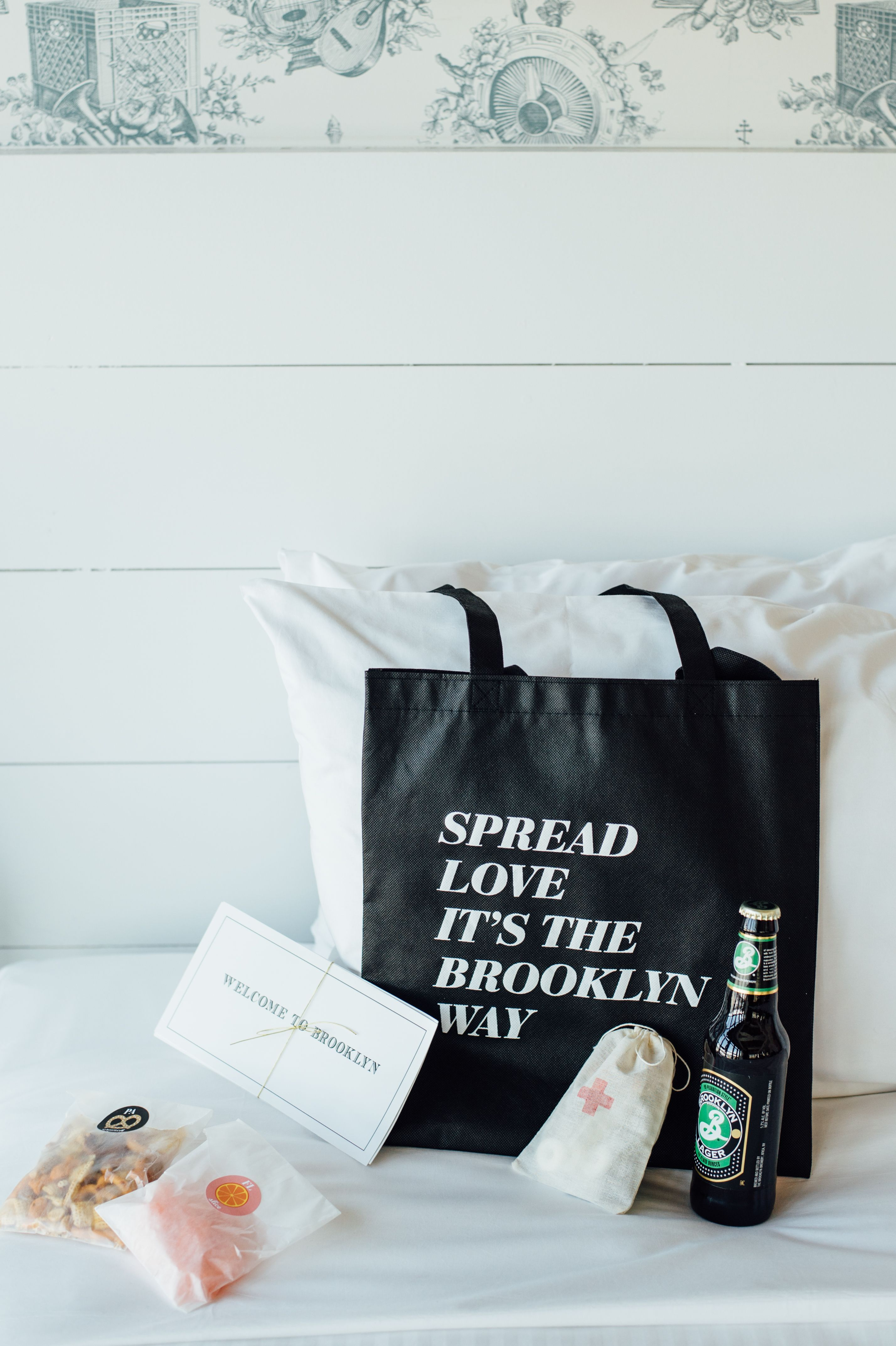 Inspired Welcome Bags -- \