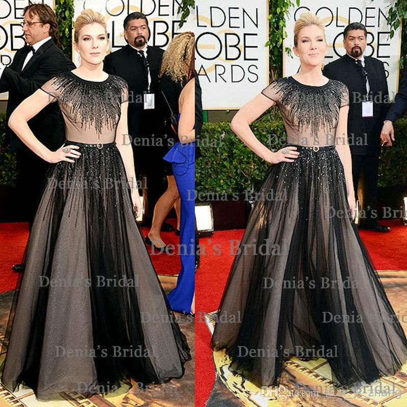71st Golden Globe Evening/Celebrity Red Carpet Dresses Lily Rabe ...