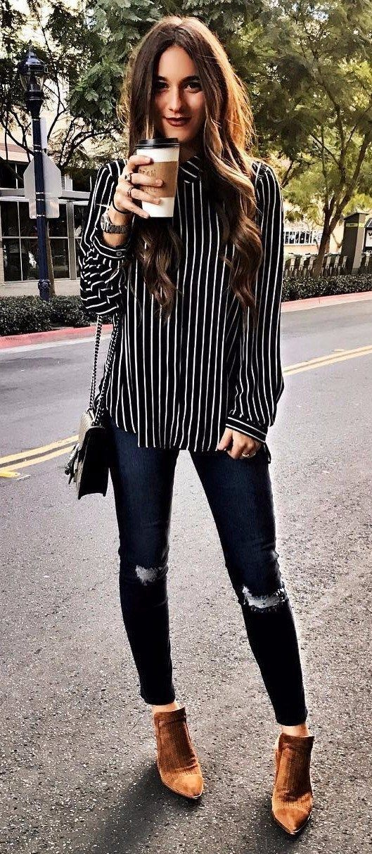 4aa4d13b63 Stripes Plus Rips Business Casual Winter Business Casual