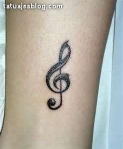 De Clave Sol Tatuajes Fotos Dibujos Diseños Tattoos Proyectos Que