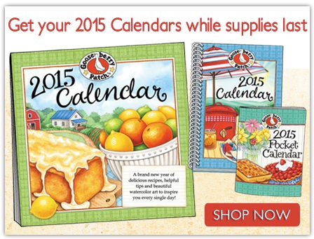 Gooseberry Patch Country Cookbooks, Calendars, Organizers, Online