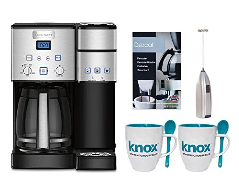Cuisinart SS15 Premium Single Serve Coffeemaker + Knox