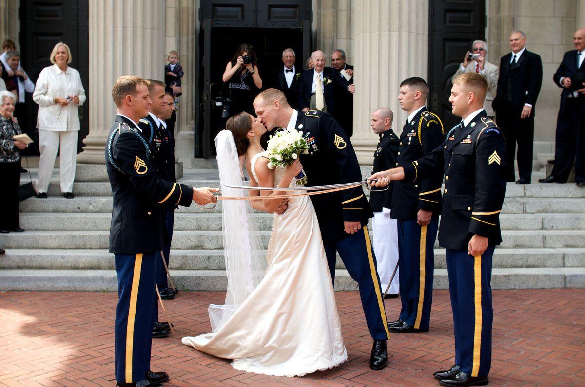 Katherines Military Wedding