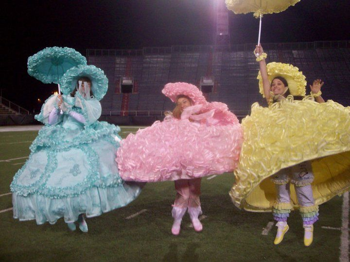 Parachuting Dresses