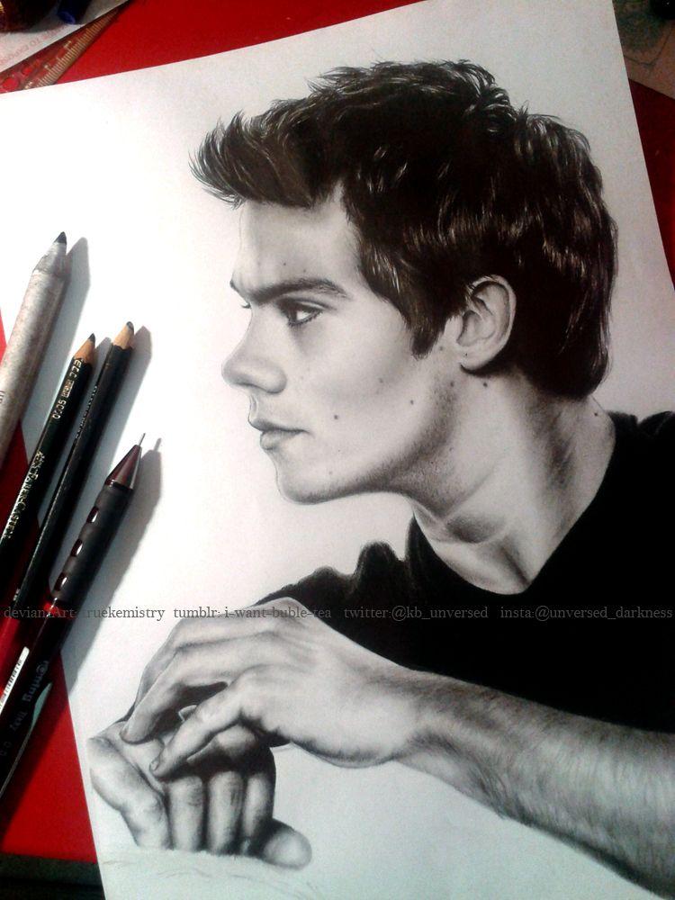 Dylan Obrien Art Dibujos A Lápiz Dibujos Realistas Y