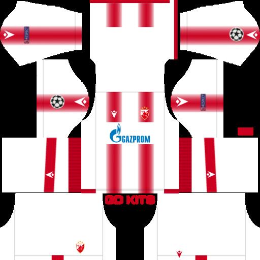 Get The Crvena Zvezda 2020 Kits 20192020 Dream League