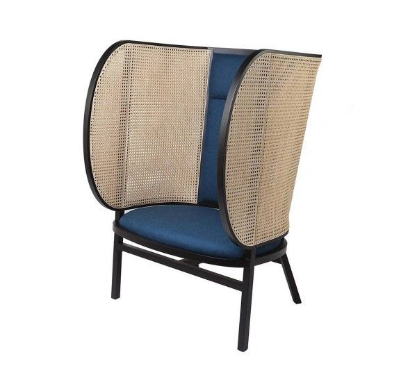 Gebrüder Thonet Vienna Hideout Lounge Chair   Mohd Design Shop is part of Armchair furniture - Discover Hideout Lounge Chair and all Gebrüder Thonet Vienna collection on Mohd  Buy online with Guaranteed Price and shipping door to door worldwide
