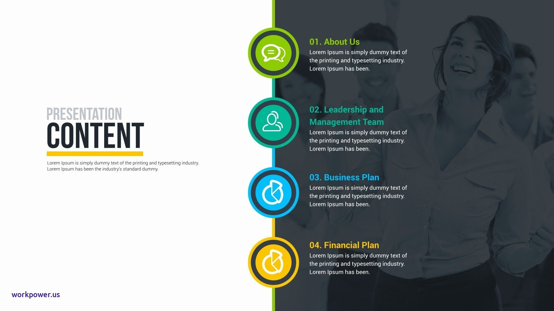 Business Plan Ppt Template Free Download Powerpoint Presentation