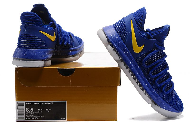 info for 8696a cf9fc Nike Zoom KD 10 LMTD EP Golden States Warriors Basketball Shoe For Sale