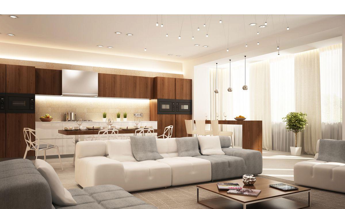 Led Kitchen Cabinet Lighting In Stock At Schillings Interior Design Apartment Design Chicago Interior Design