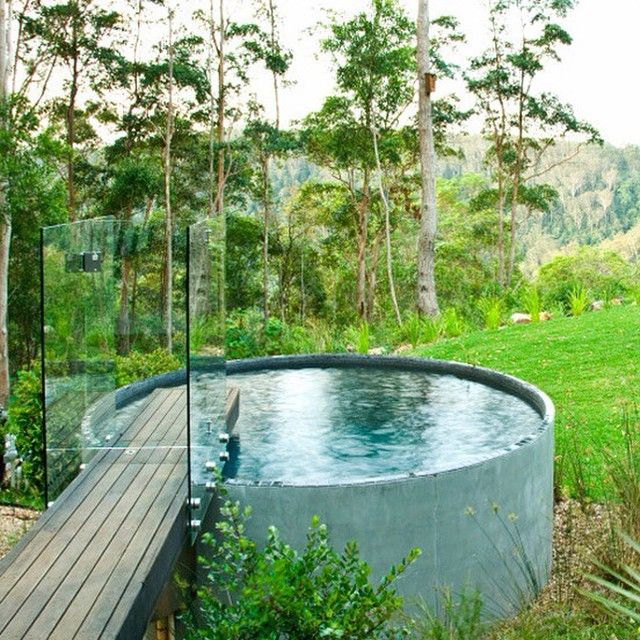 Gypsea Swimwear On Instagram Makeshift Water Tank Pool So Good Tank Swimming Pool Backyard Pool Plunge Pool
