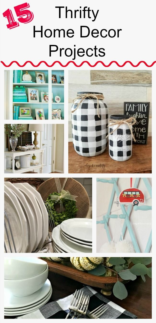 15 AMAZING Thrifty Home Decor Projects From The Style Team