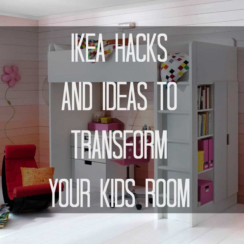 ikea hacks and ideas to transform your kids room - Ikea Kids Bedrooms Ideas