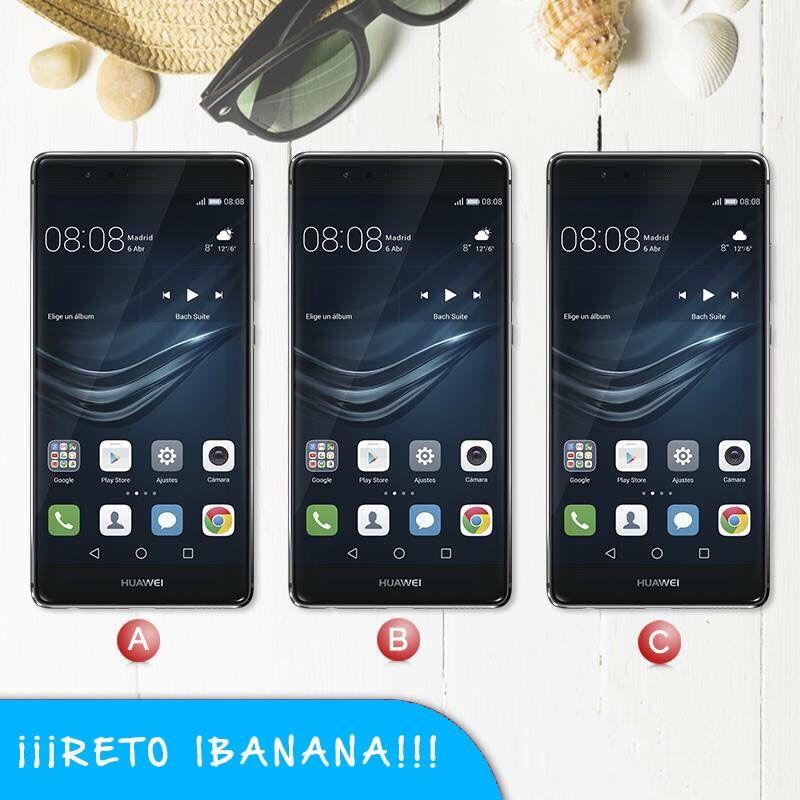¡¡¡Reto iBanana!!! Sabrías comentar cual es el Huawei p9 que es diferente :A/B/C ???🙊 ¿Os lo hemos puesto esta vez demasiado difícil?