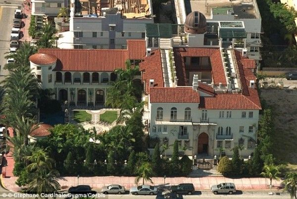 1116 Ocean Dr Miami Fl The Villa Casa Casaurina Versace Mansion Mansions Versace Mansion Miami