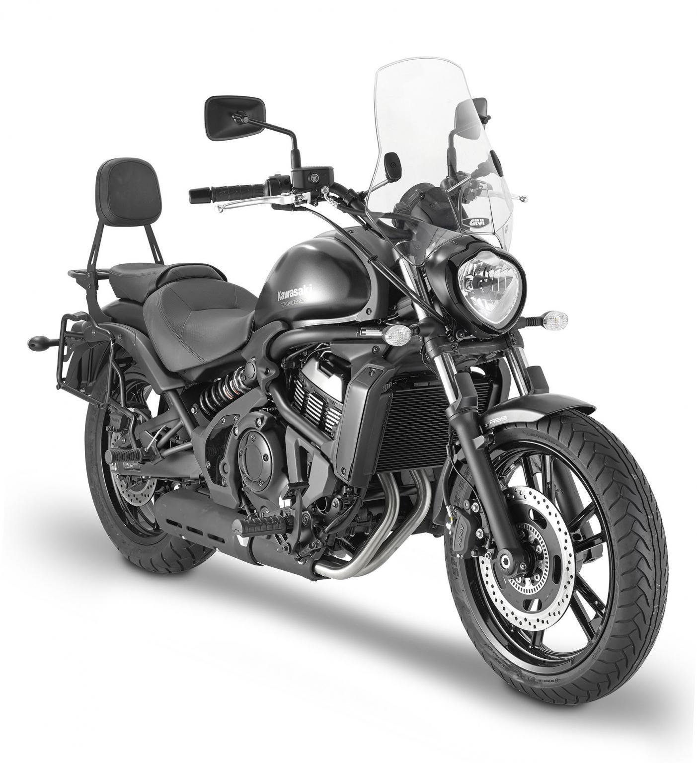Neue Ausstattung Für Die Kawasaki Vulcan S 650 Givi Bietet