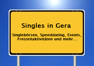 Speeddating gera