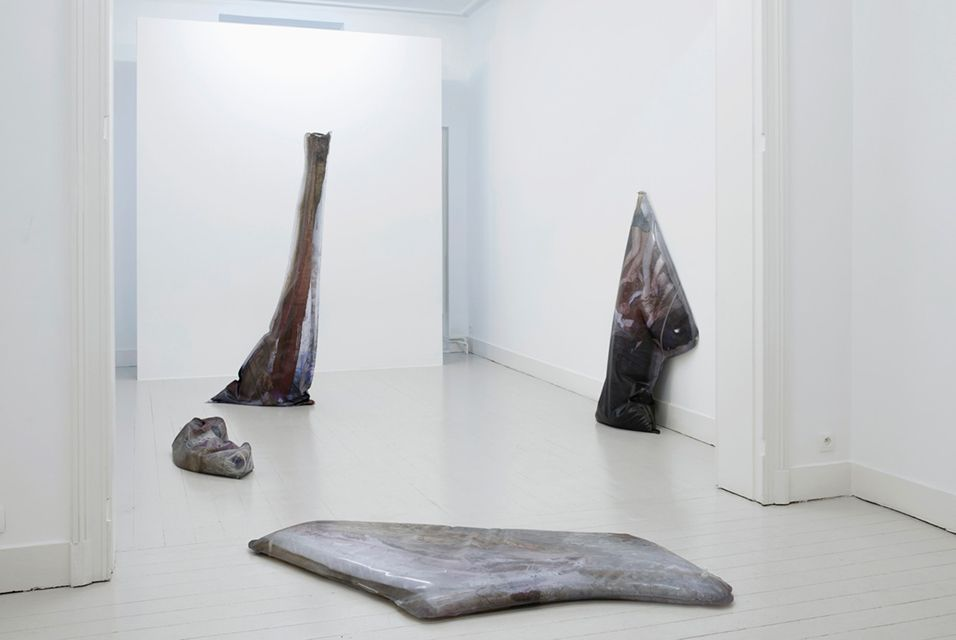 Exhibition of new work by Emmanuelle Lainé on view at MOT International in Brussels